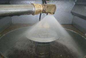 Oxidation durch Sauerstoffanreicherung